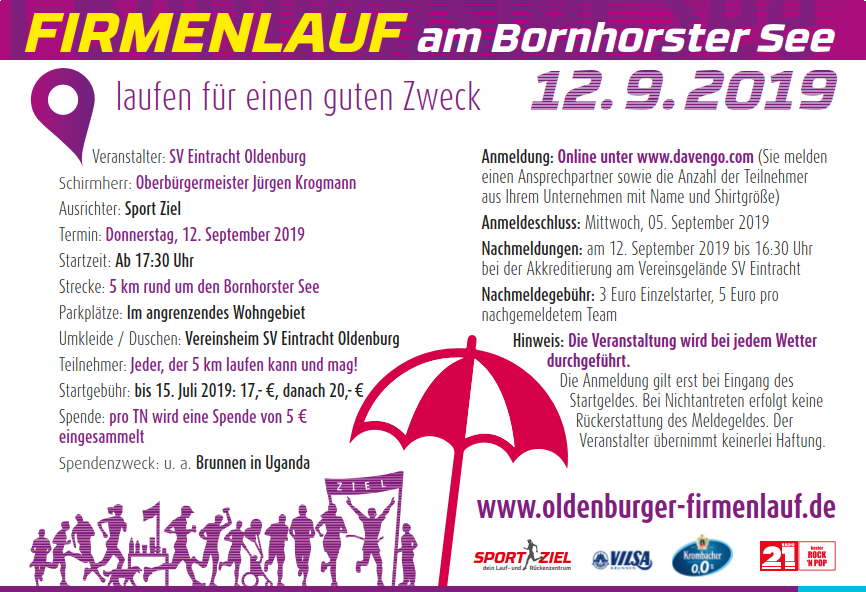 Oldenburger Firmenlauf 2019